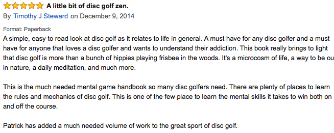 zen and the art of disc golf review30