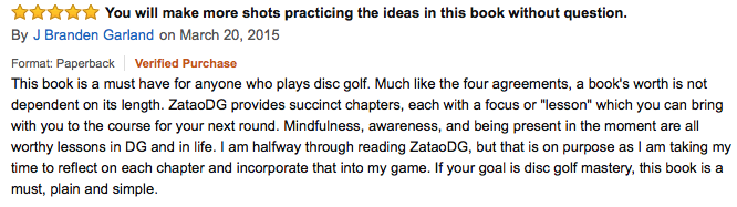 zen and the art of disc golf review35