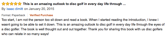 zen and the art of disc golf review37