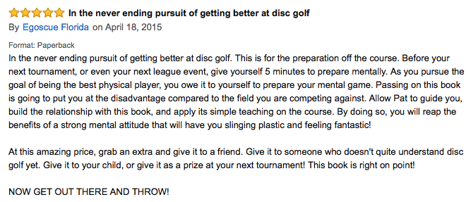 zen and the art of disc golf review5