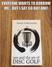 zen and the art of disc golf book fan image19