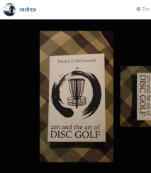 zen and the art of disc golf book fan image2