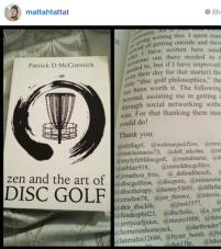 zen and the art of disc golf book fan image20