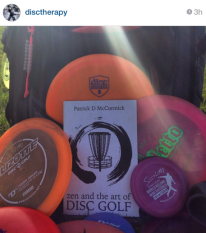 zen and the art of disc golf book fan image22