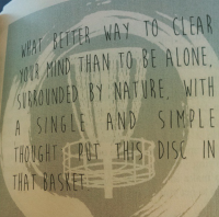 zen and the art of disc golf book fan image25