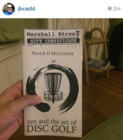 zen and the art of disc golf book fan image28