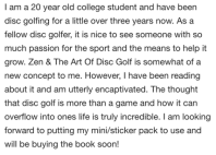 zen and the art of disc golf book fan image32