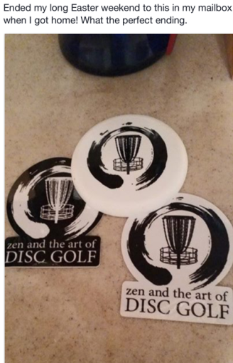 zen and the art of disc golf book fan image38