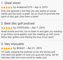 zen and the art of disc golf book fan image42